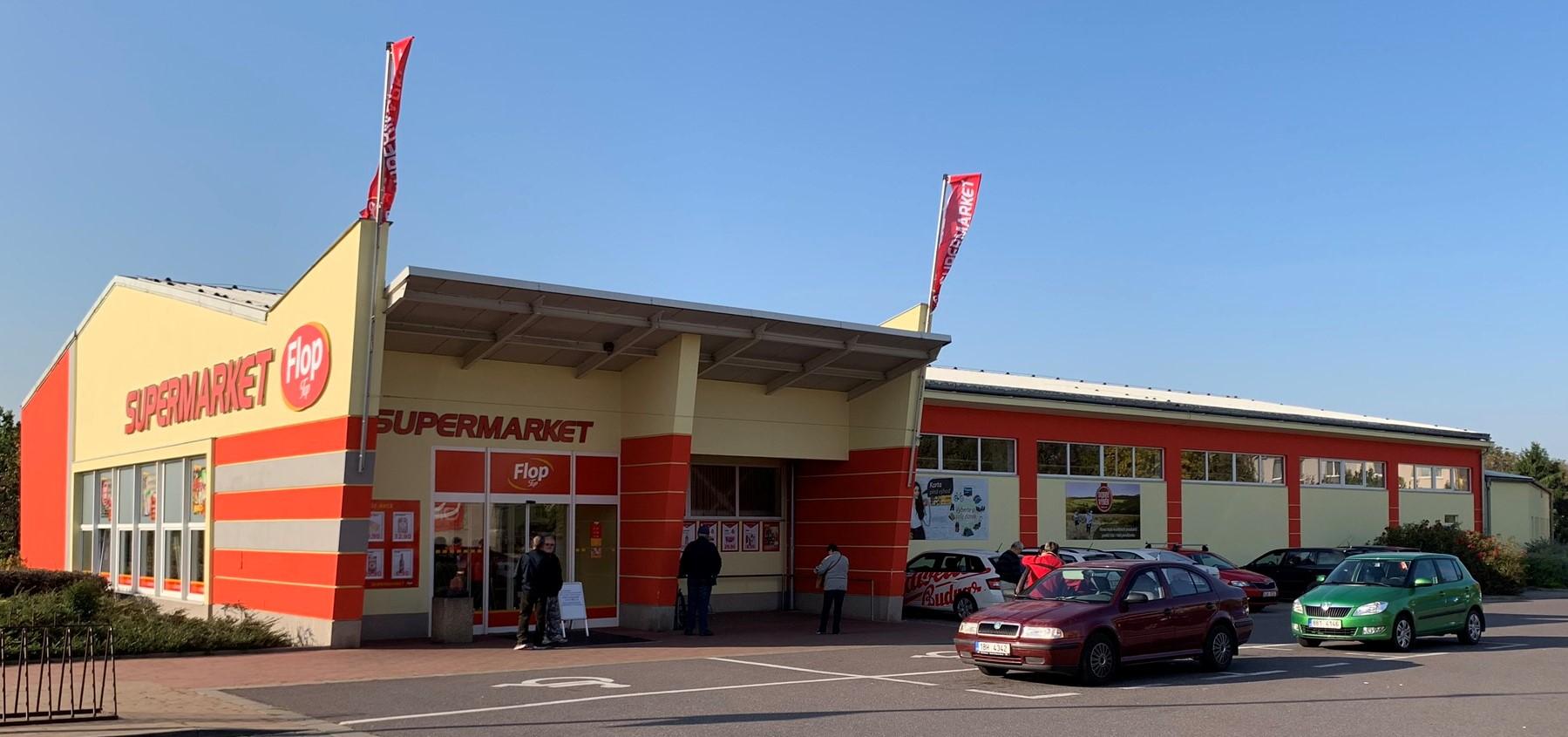 Supermarket FLOP TOP Hrušovany nad Jevišovkou