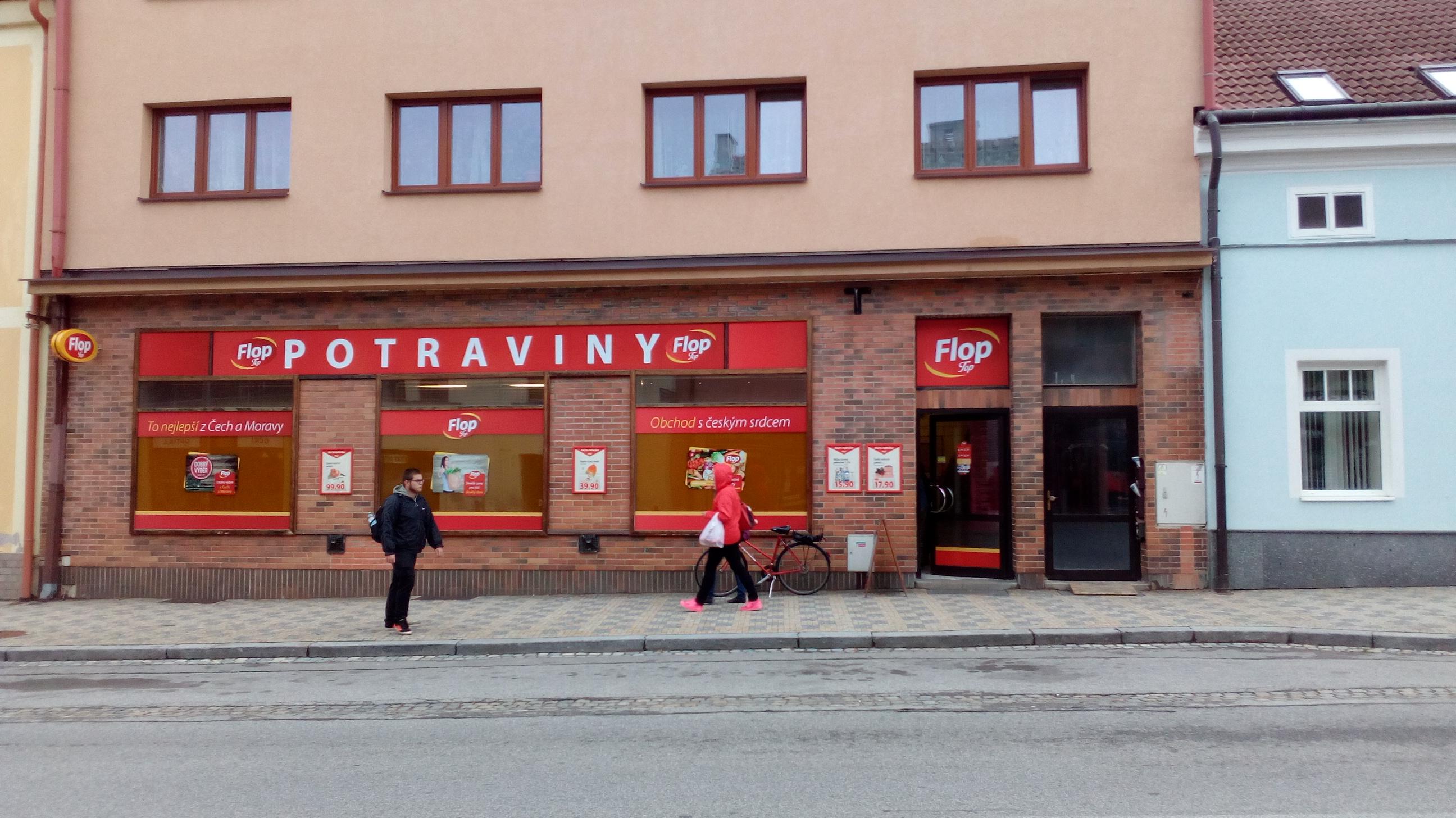 FLOP TOP Moravské Budějovice