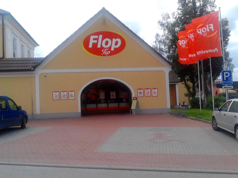 FLOP TOP Borovany
