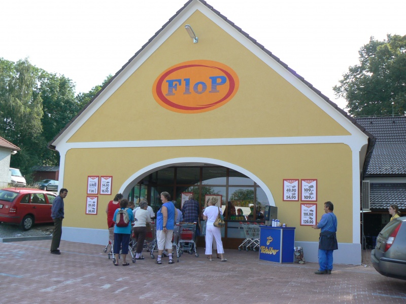 FLOP TOP Horní Planá
