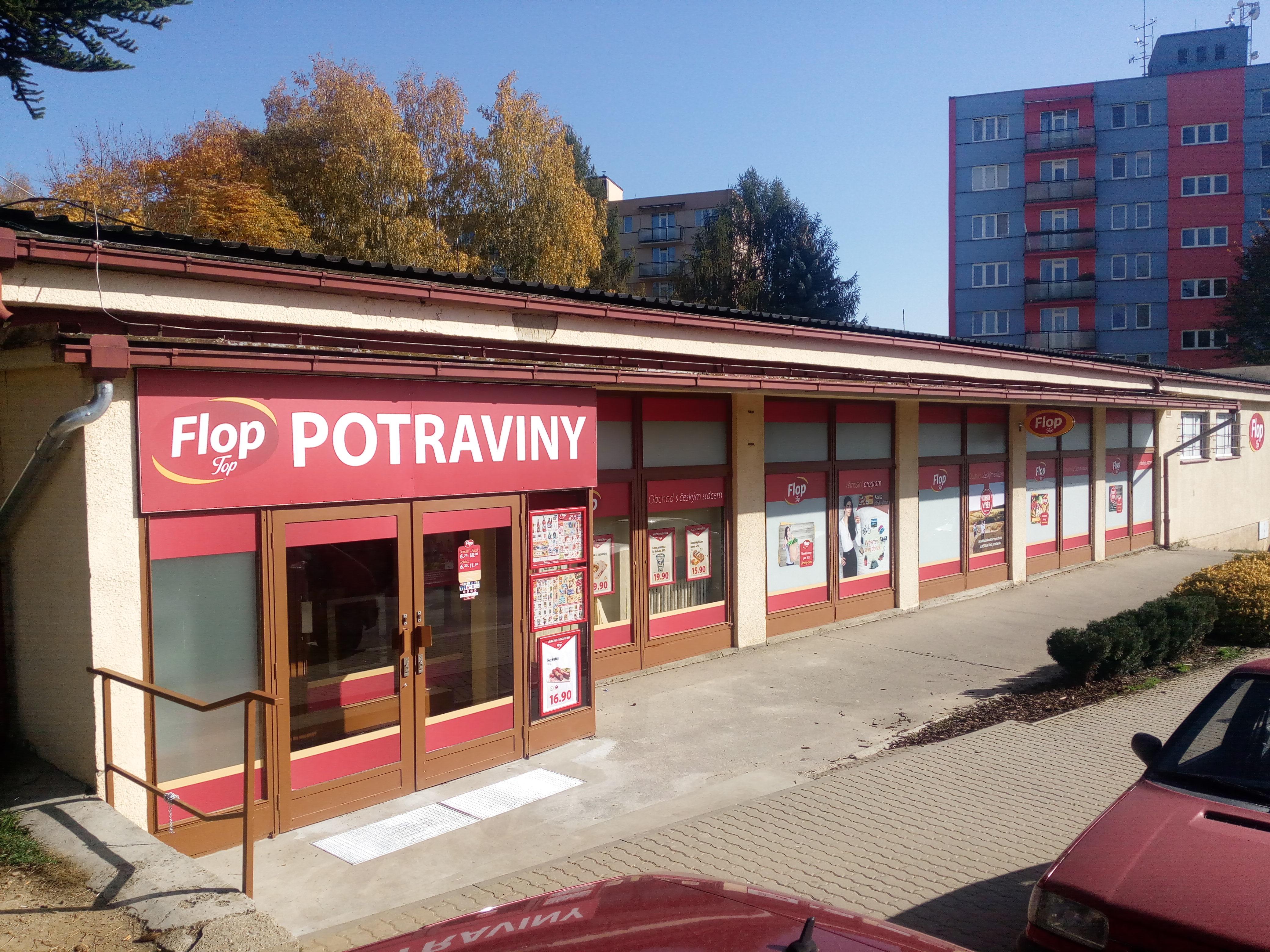 FLOP TOP Pelhřimov