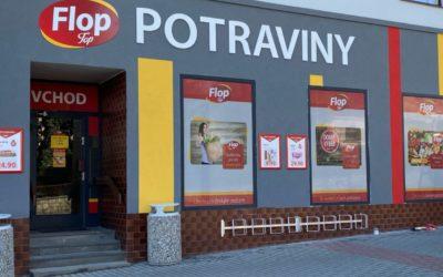 7.5.2021 otevření prodejny Flop Top vŽirovnici